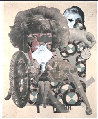 """Hannah Hoch """"Beautiful Girl"""" ca 1920"""